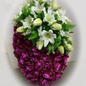 Венок из искусственный цветов